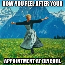Look at All the Fucks I Give - How you feel after your  appointment at OlyCurl