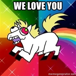 Lovely Derpy RP Unicorn - We love you