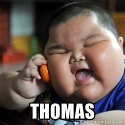 fat chinese kid - thomas