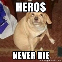 Oh You Dog - Heros Never die