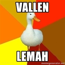 Technologically Impaired Duck - Vallen lemah