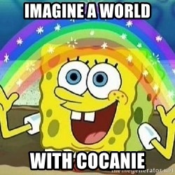 Imagination - imagine a world with cocanie