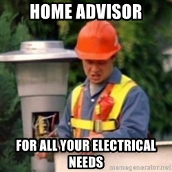 No One Ever Pays Me in Gum - home advisor for all your electrical needs