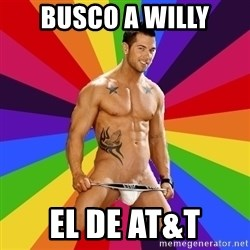 Gay pornstar logic - Busco a willy El de at&t