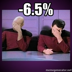Double Facepalm - -6.5%