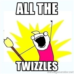 All the things - All the  twizzles