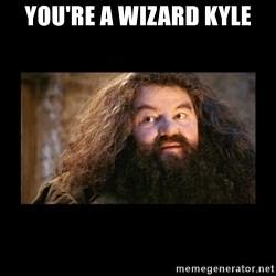 You're a Wizard Harry - You're a wizard Kyle