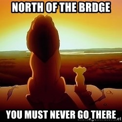 simba mufasa - North of the brdge You must never go there