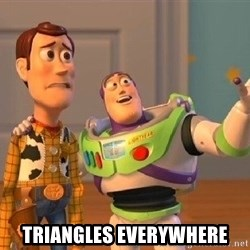 Consequences Toy Story - Triangles everywhere