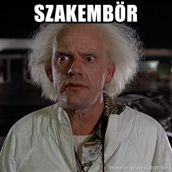 Back To The Future Doctor - Szakembör