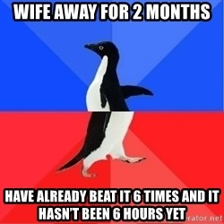Socially Awkward to Awesome Penguin - Wife away for 2 months Have already beat it 6 times and it hasn't been 6 hours yet