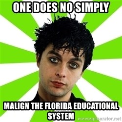 Bad Billie Joe - One does no simply Malign the florida educational system