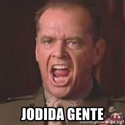 Jack Nicholson - You can't handle the truth! - jodida gente