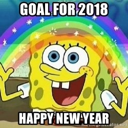 Imagination - goal for 2018 happy new year