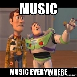 Buzz lightyear meme fixd - Music Music everywhere