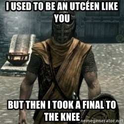 skyrim whiterun guard - I used to be an utcéen like you but then i took a final to the knee