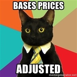 Business Cat - BASES PRICES ADJUSTED