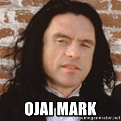 Disgusted Tommy Wiseau - ojai mark