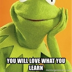 Kermit the frog - you will love what you learn