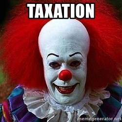Pennywise the Clown - taxation