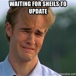 Crying Man - Waiting for sheils to update