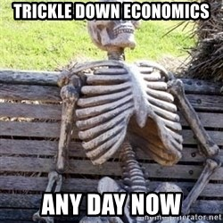 Waiting For Op - Trickle down economics Any day now