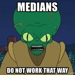 Morbo - MEDIANS DO NOT WORK THAT WAY