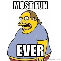 Comic Book Guy Worst Ever - Most fun ever