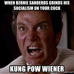 Khan - when bernie sanderds grinds his socialism on your cock kung pow wiener