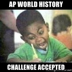 Black kid coloring - AP World History Challenge Accepted