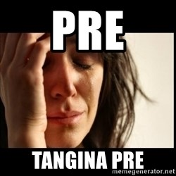First World Problems - pre tangina pre