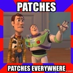 Everywhere - Patches Patches Everywhere