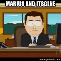 south park aand it's gone - Marius and itsglne