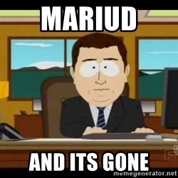 south park aand it's gone - Mariud  And its gone