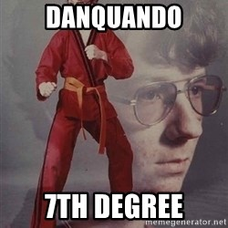PTSD Karate Kyle - Danquando 7th degree