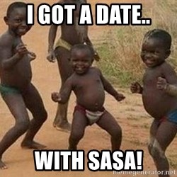 african children dancing - I got a date.. with Sasa!