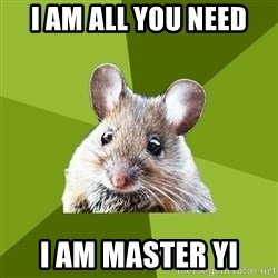 Prospective Museum Professional Mouse - i am all you need i am master yi