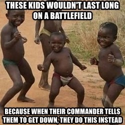 Dancing african boy - these kids wouldn't last long on a battlefield because when their commander tells them to get down, they do this instead