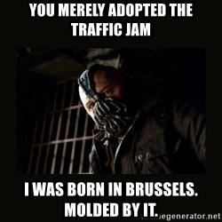 Bane Dark Knight - You merely adopted the traffic jam I was born in Brussels. Molded by it.