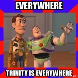 Everywhere - Everywhere Trinity is Everywhere