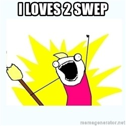 All the things - i loves 2 swep