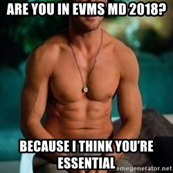 Shirtless Ryan Gosling - Are you in EVMS MD 2018? Because I think you're essential