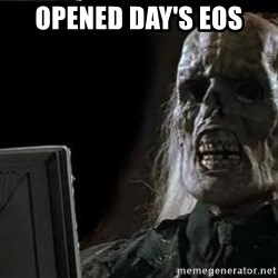 OP will surely deliver skeleton - opened day's eos