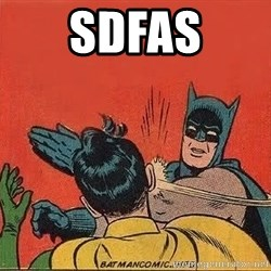 batman slap robin - sdfas