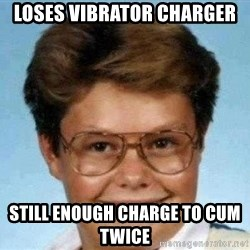 good luck larry hd - Loses vibrator charger Still enough charge to cum twice