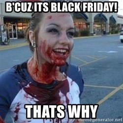 Scary Nympho - B'cuz Its black friday! Thats why