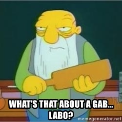 Jasper Beardly - What's that about a Gab... Labo?