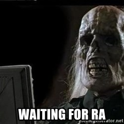 OP will surely deliver skeleton - waiting for RA