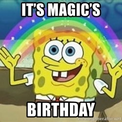 Spongebob - It's Magic's Birthday