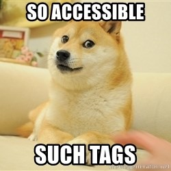 so doge - so accessible such tags